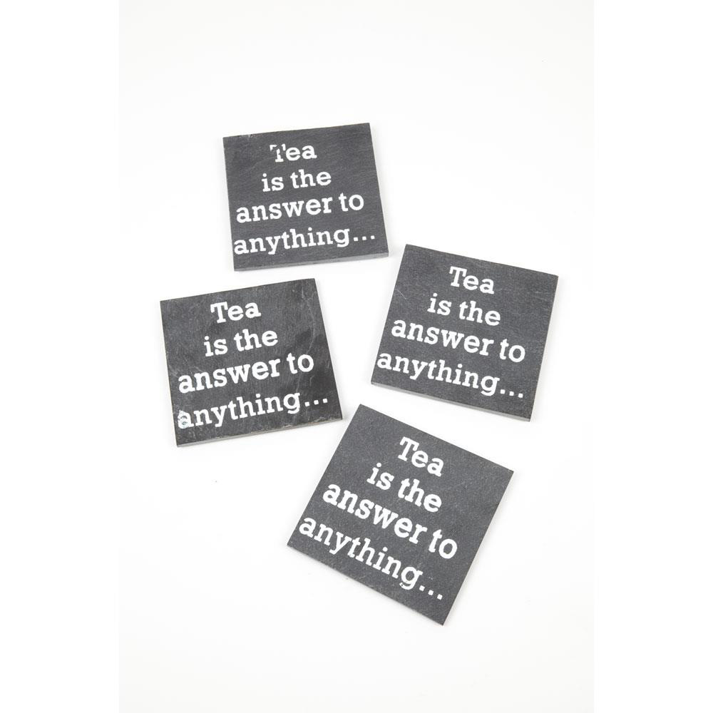 Tea is the answer Coasters