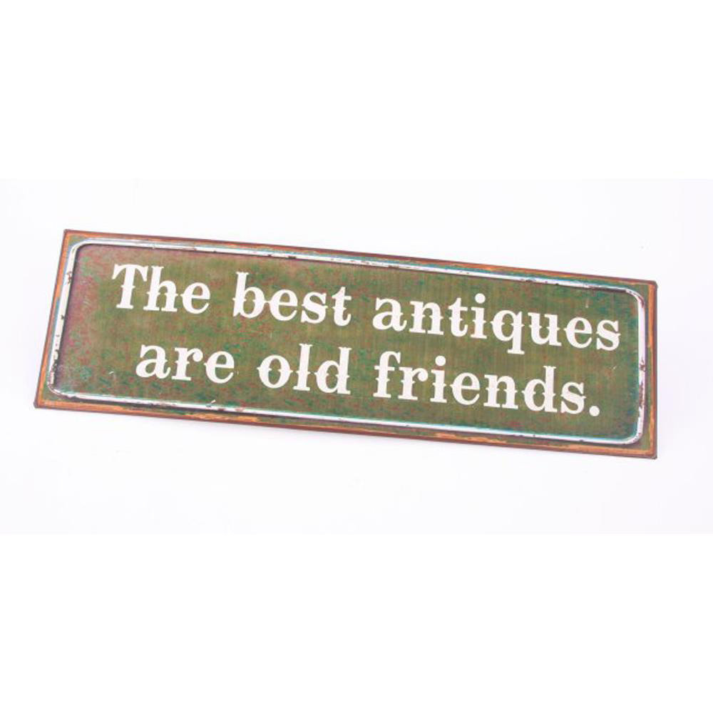 The Best Antiques Iron Sign