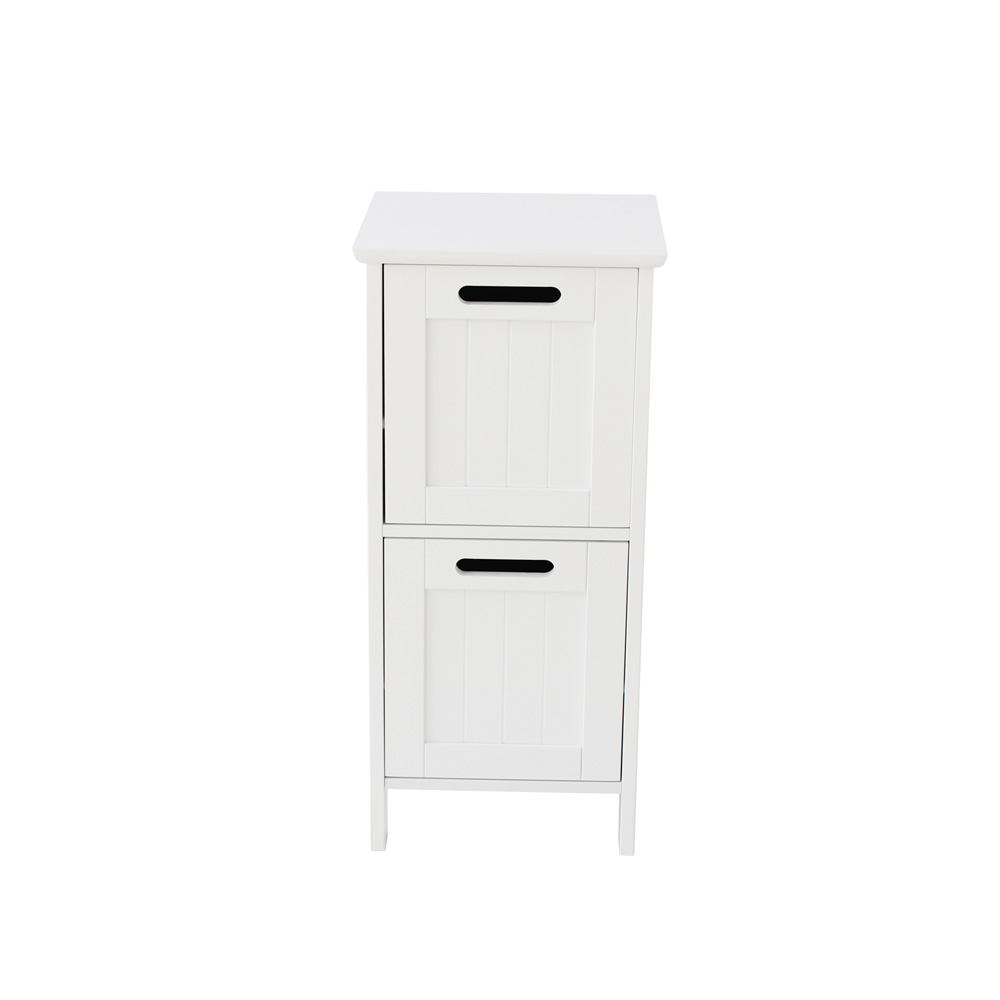 White shaker 2 Drawer Freestanding unit