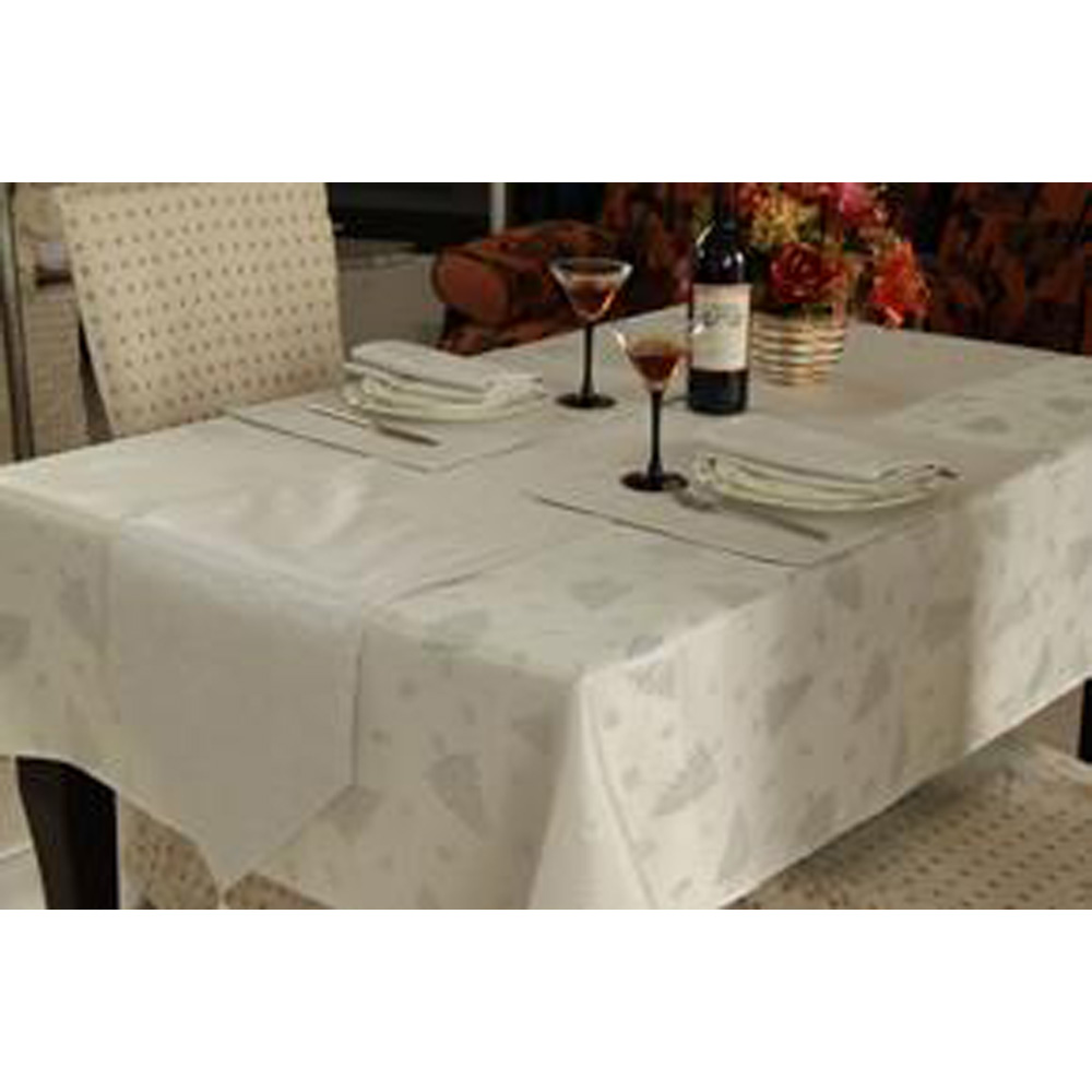 Large Silver Christmas Table Linen Set For 8 Roman At Home  sc 1 st  Modern Coffee Tables and Accent Tables & Christmas Table Linen Sets | Modern Coffee Tables and Accent Tables