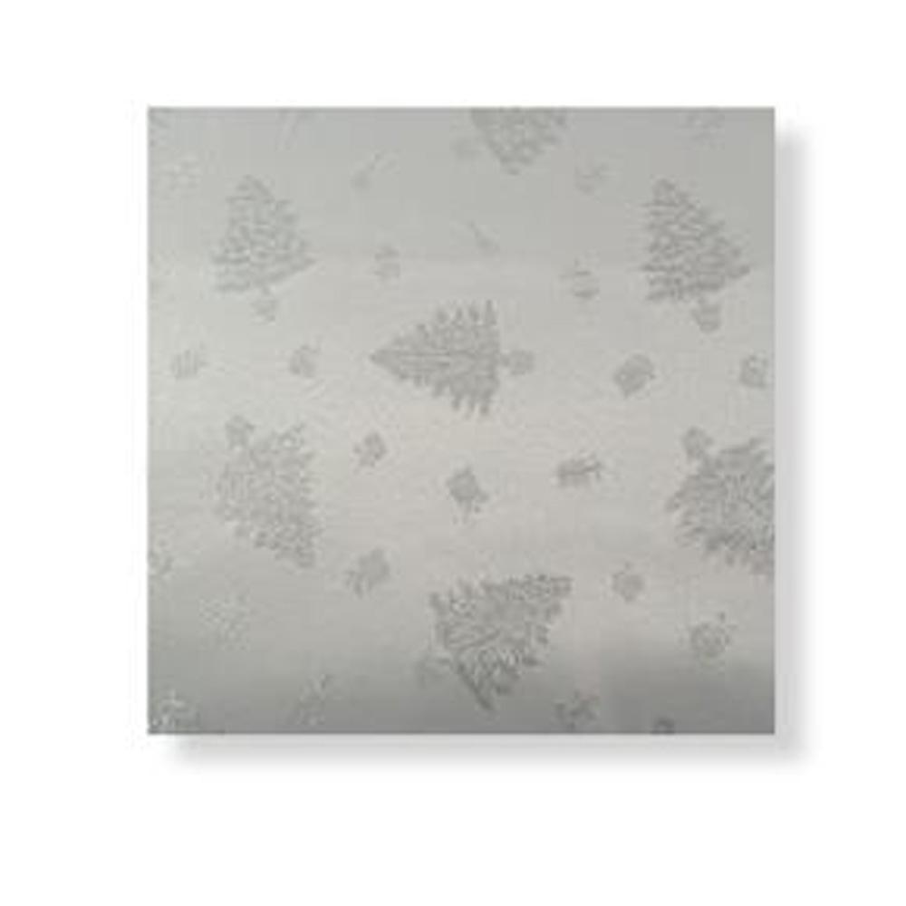 Regular & Large Silver Christmas Tree Tablecloth | Roman ...