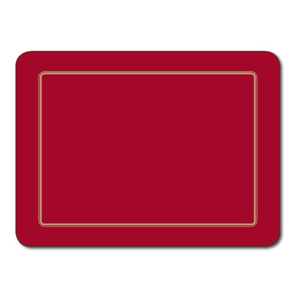 Embassy Red Coasters by Jason