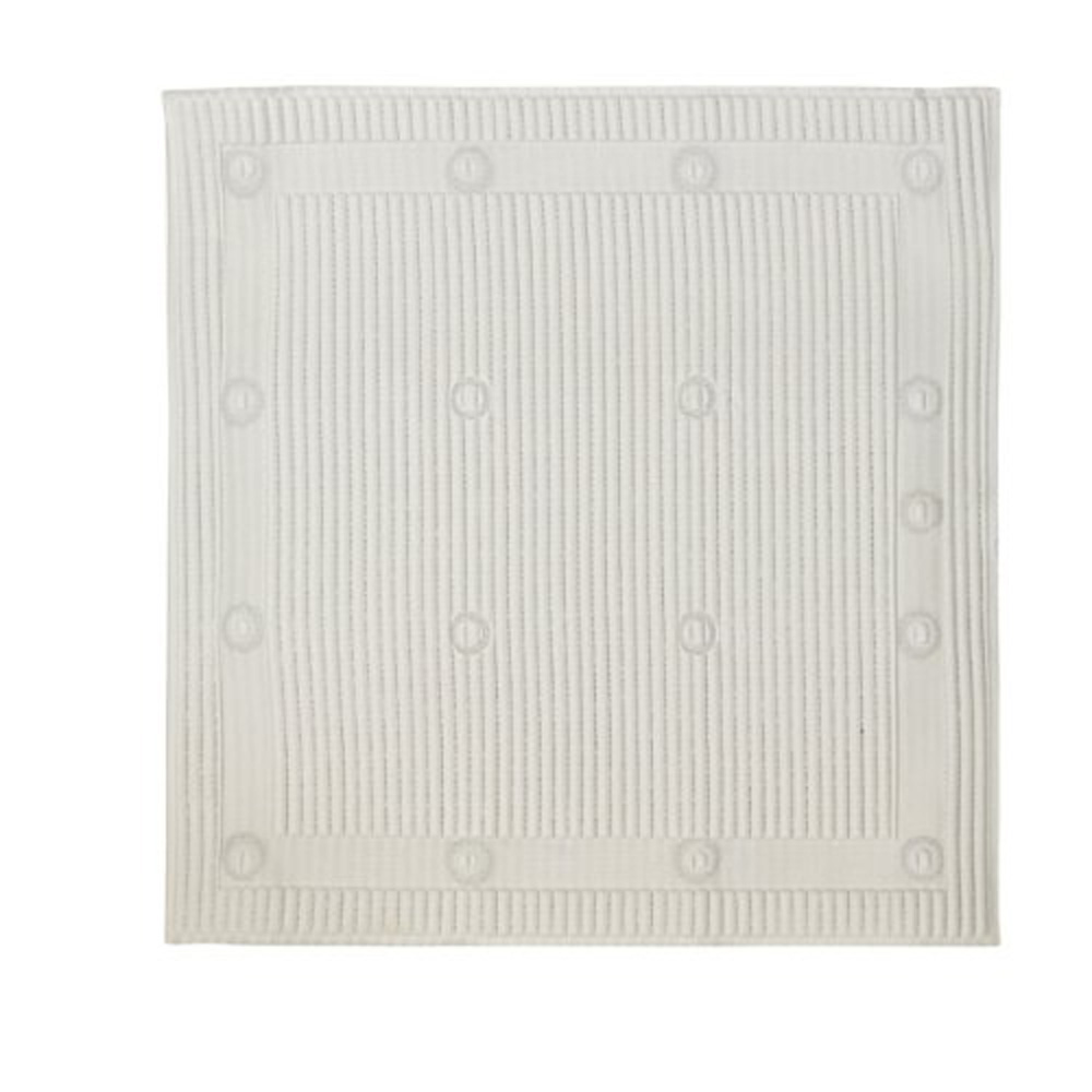Non-Slip Shower Mat - White