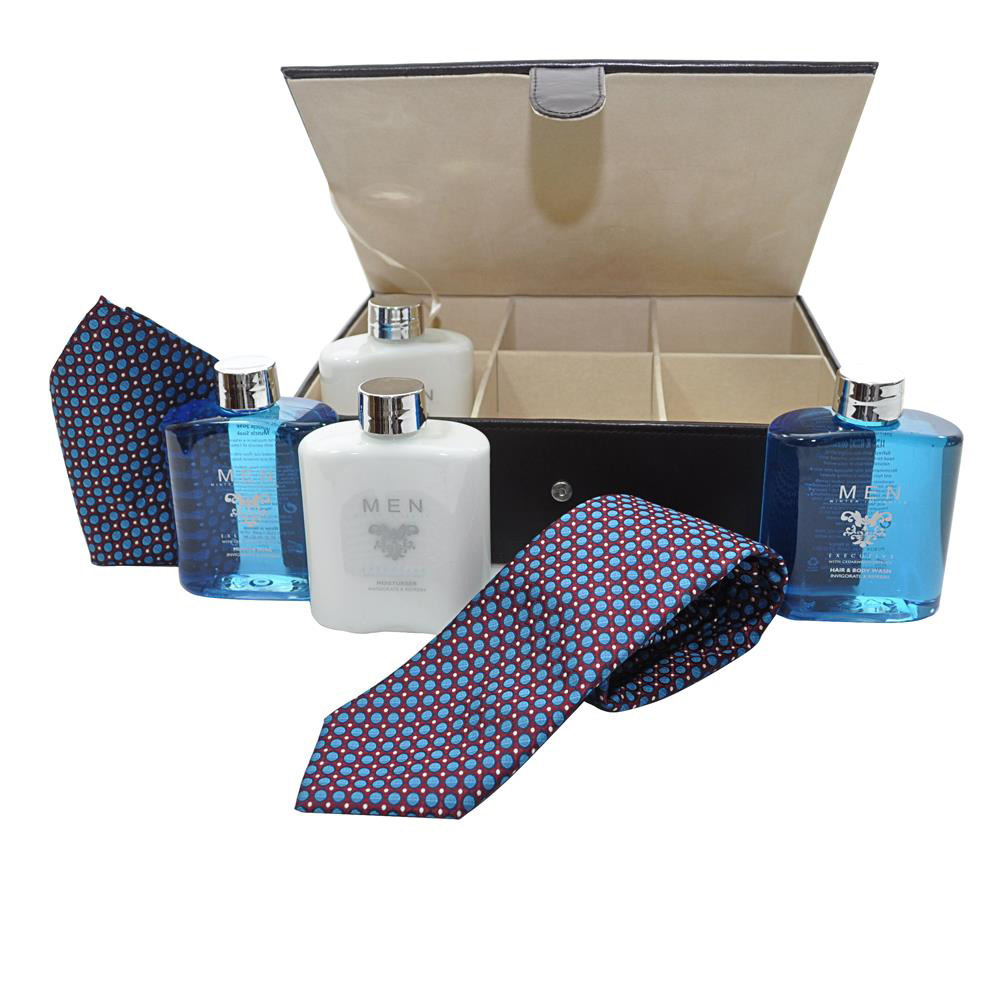 Tie Box Toiletry Mens Gift Set by Winter in Venice