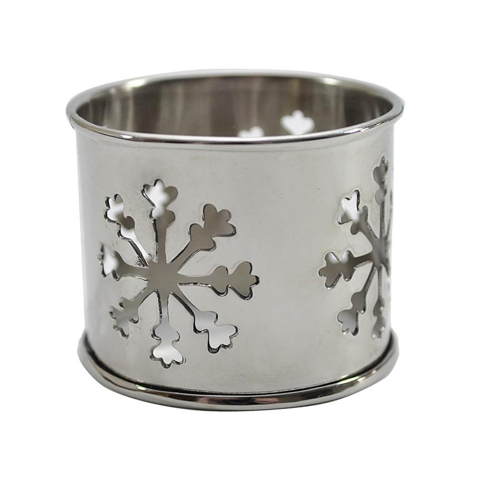 Snowflake Cut-Out Bangle Napkin Ring