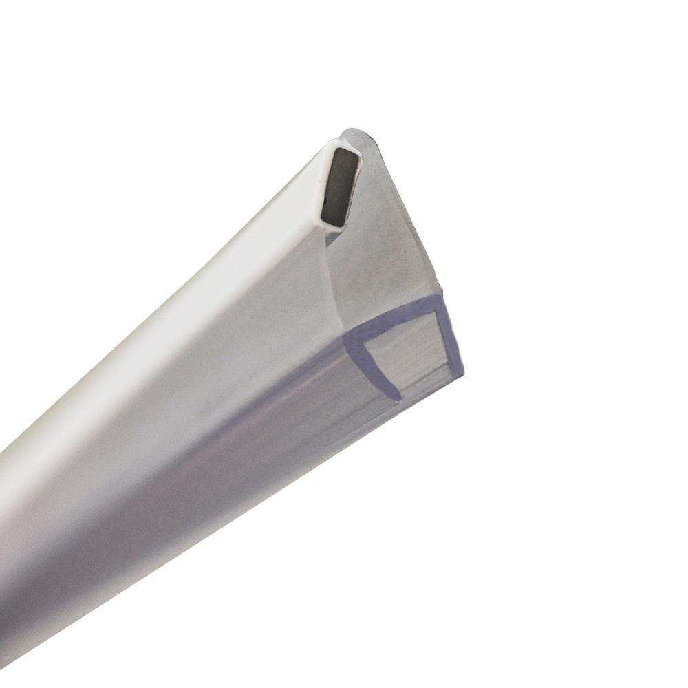 45 Degree Angle Shower Door Magnetic Seal 1900mm Straight