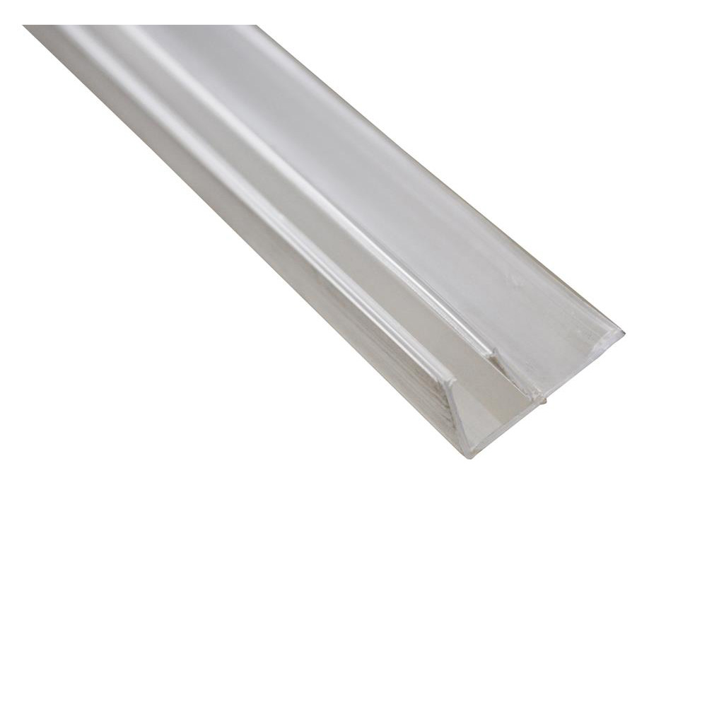 Sculptures Sliding Door Panel Flipper Seal: 1950mm Straight