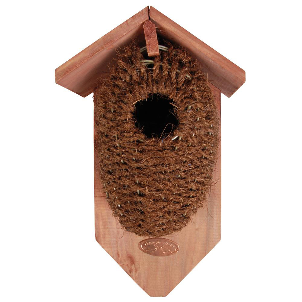 Coconut Fibre Bird Nesting Box