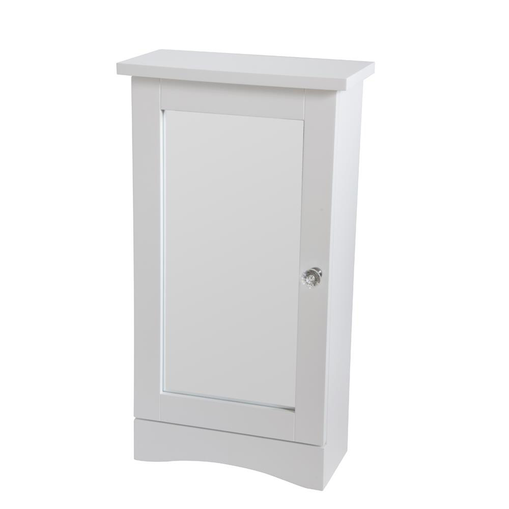 Classic Design White Mirrored Wall Cabinet
