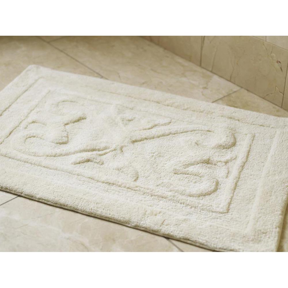 Luxury Bathroom Shower Mat Crisp White Roman At Home