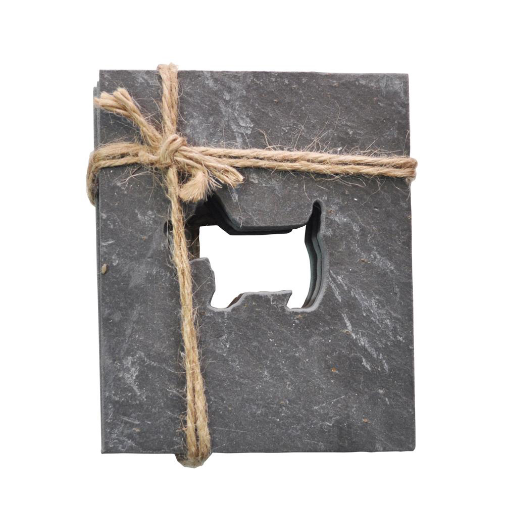 Scottie Dog Slate Coasters