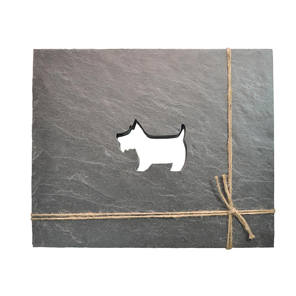 Scottie Dog Slate Placemats