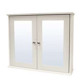 White Shaker Double Door Cabinet