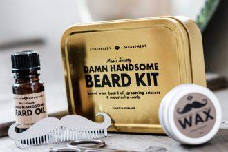 Men's Society Beard Grooming Kit